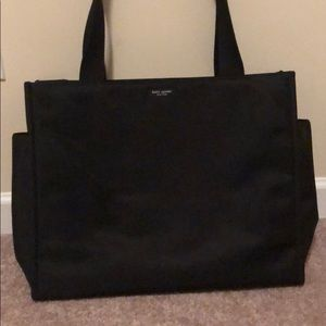 Black Kate Spade diaper bag or laptop bag